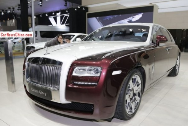 Rolls-Royce Ghost Canton Glory debuts on the 2013 Guangzhou Auto Show