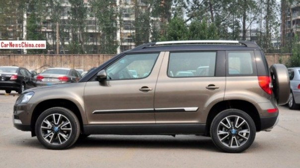 Stretched Skoda Yeti will debut on the Guangzhou Auto Show in China