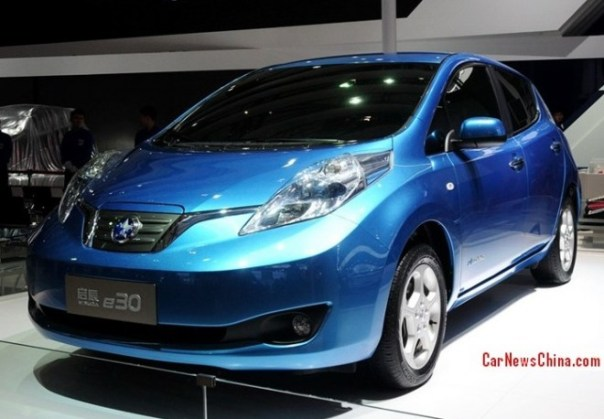 Nissan Leaf will be made in China from 2015, but it won't be called Nissan Leaf