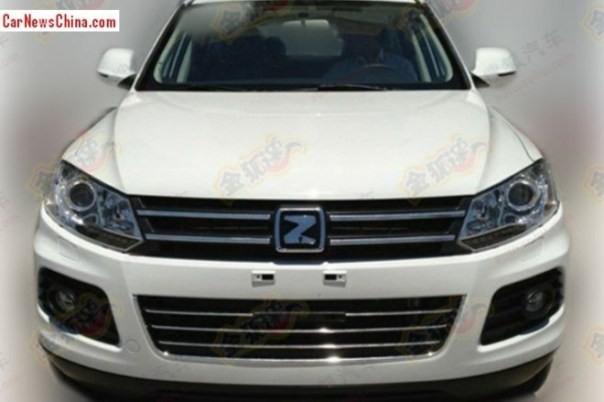 Spy Shots: Zotye T600 seen testing in China