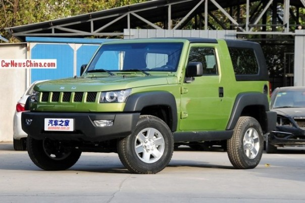Beijing Auto BJ40 hits the China car market