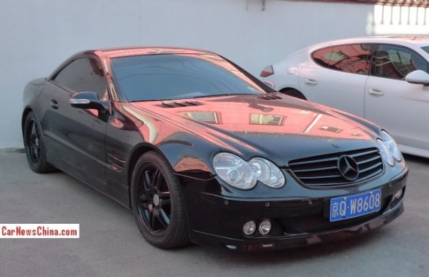 Spotted in China: Brabus SL55 K8