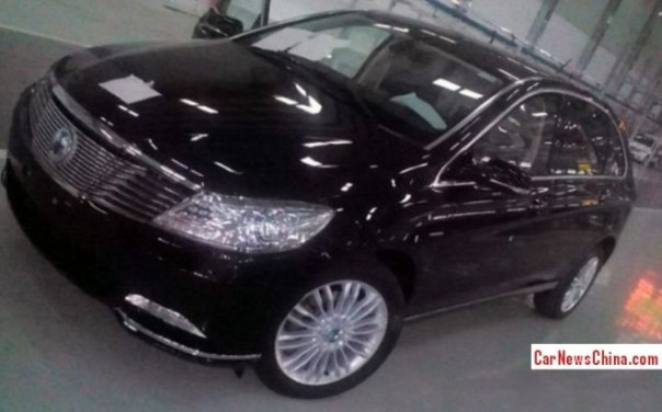 Spy Shots: BYD-Daimler Denza EV seen Naked in the Factory in China