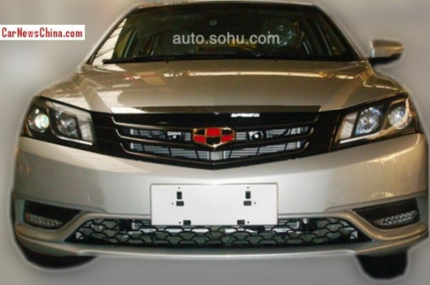 Spy Shots: facelifted Geely Emgrand EC7 is almost Ready for the China car market