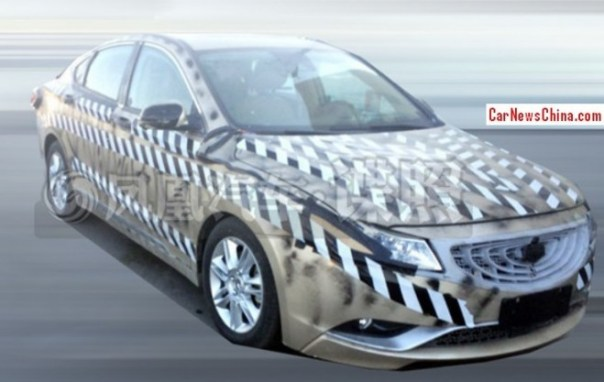 Spy Shots: Geely Emgrand EC9 sedan testing in China