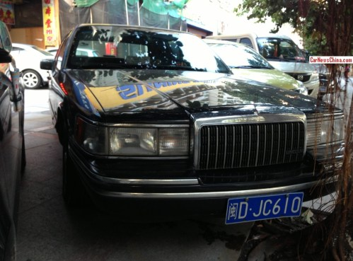 small resolution of spotted in china lincoln town car in black