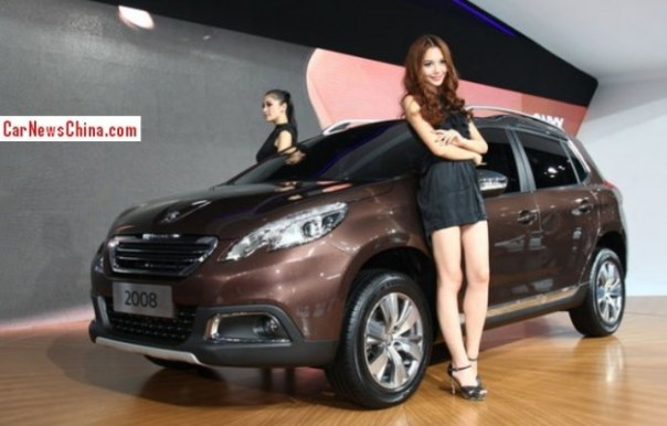 Peugeot 2008 will be launched on the China car market in April 2014