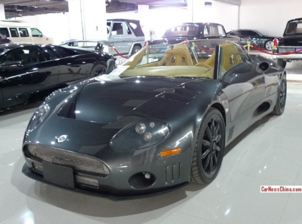 Super Car China Super Spot: Spyker C8 Spyder