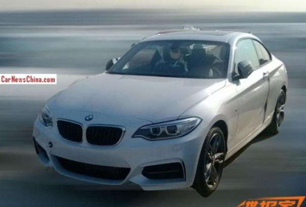 Spy Shots: 2014 BMW M235i is Naked in China