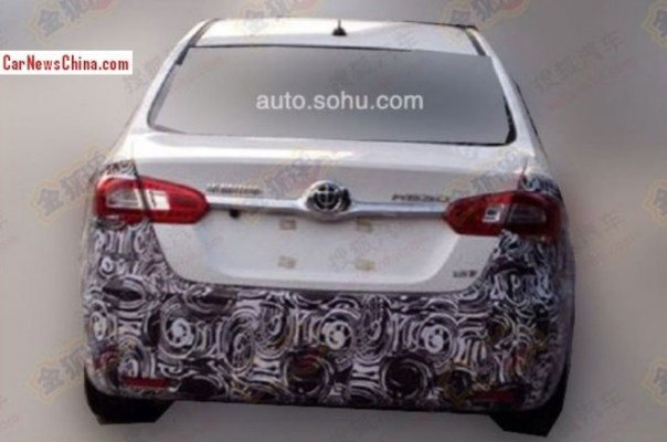 Spy Shots: facelift for the Brilliance H530 sedan in China