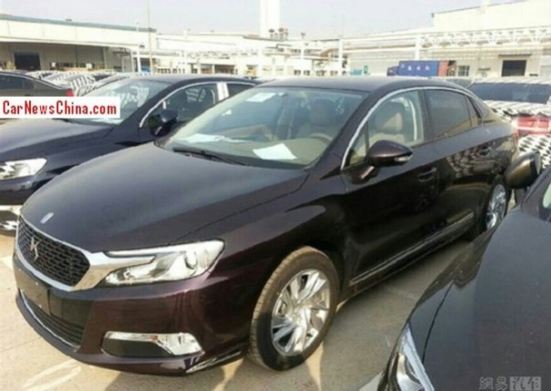Spy Shots: Citroen DS 5LS is Naked from All Sides in China