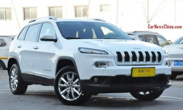 Jeep Cherokee hits the China car market