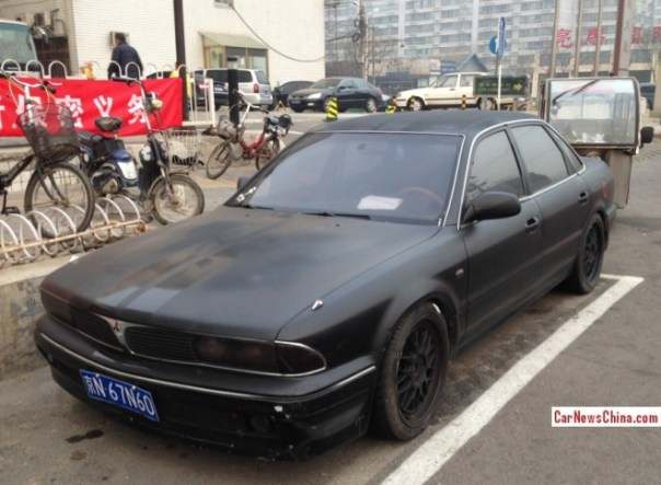 Spotted in China: first generation Mitsubishi Sigma