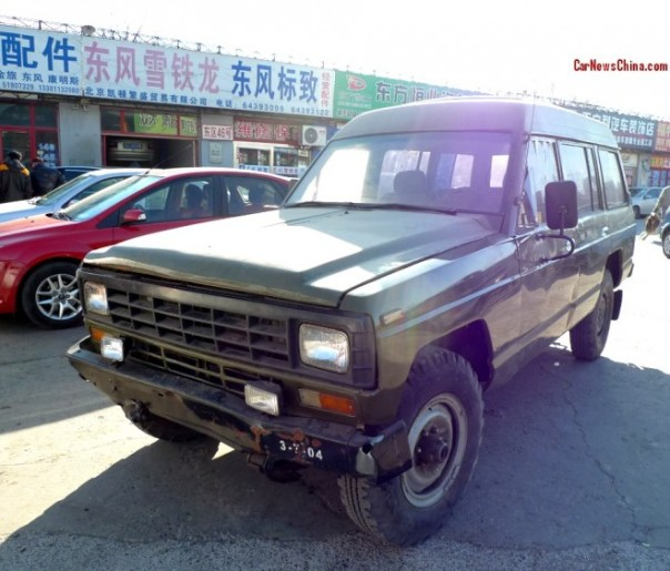 China Car History: the Sanxing Desert King