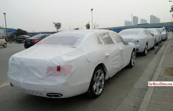 Bentley Flying Spur V8 arrives in China