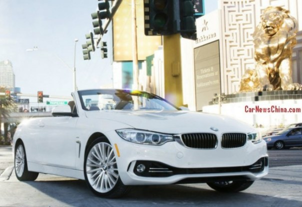 BMW 4 Series Cabriolet launched on the China car market