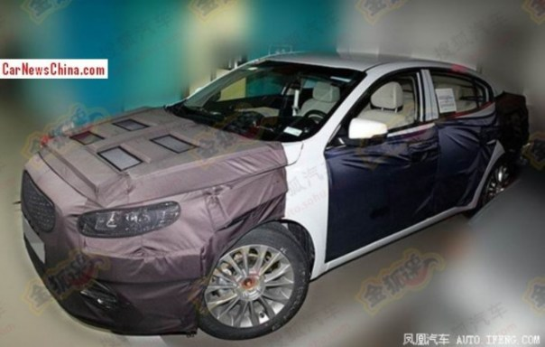 Spy Shots: Kia K4 sedan seen testing in China