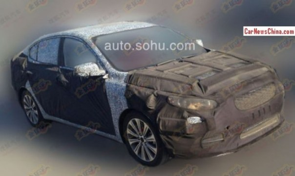 Kia K4 will debut on the 2014 Beijing Auto Show