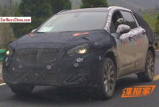 Spy Shots: Buick Envision SUV seen testing in China