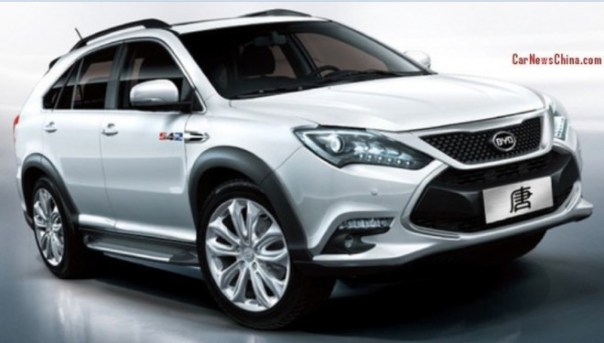 First official picture of the BYD Tang super SUV
