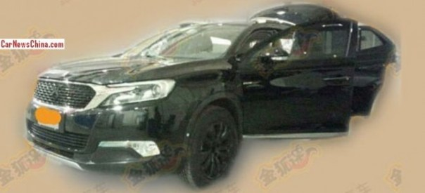 Spy Shots: Citroen DS X7 SUV is getting Ready for the 2014 Beijing Auto Show