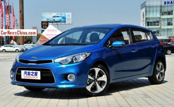 Kia K3S launched on the China car market