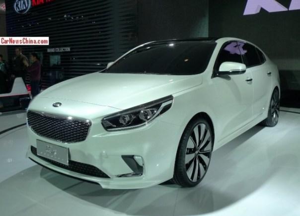 Kia K4 Concept debuts on the Beijing Auto Show