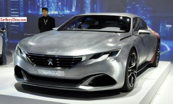 Peugeot Exalt concept debuts Early in Beijing