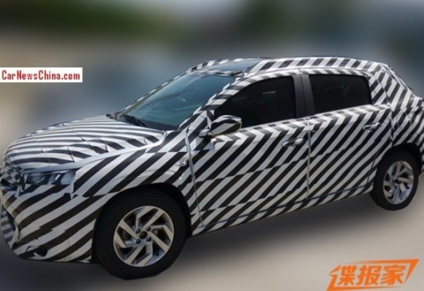 Spy Shots: Citroen C-XR SUV testing in China