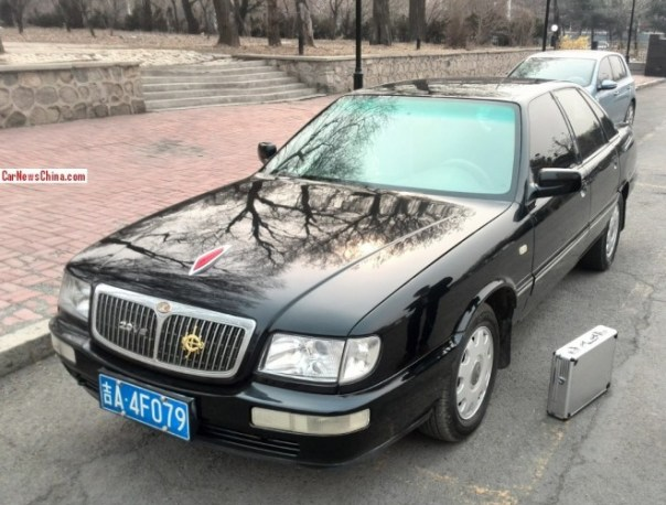 Spotted in China: Hongqi  CA7202E3 Century Star