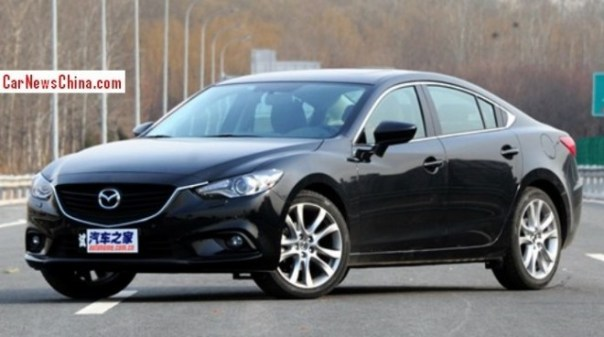 Mazda 6 Atenza launched on the China car market