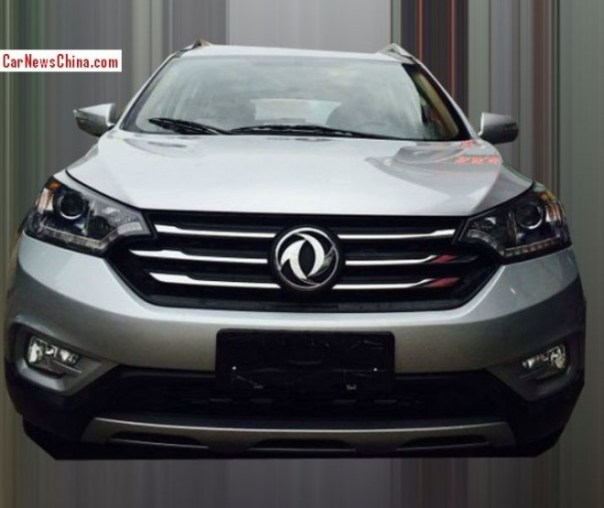 Spy Shots: Dongfeng Fengshen AX7 testing in China