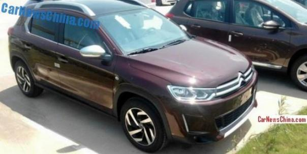 Spy Shots: Citroen C3-XR is almost Ready for the Chinese car market