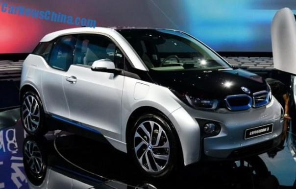 BMW i3 launched on the China car market