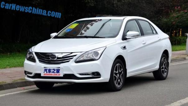 This is the BYD G5 for the Chinese auto market