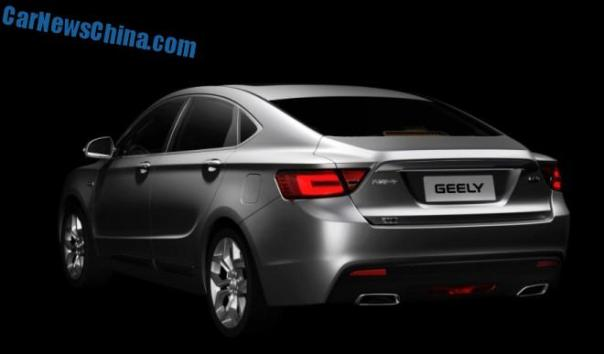 First Official Images of the new Geely Emgrand GC9