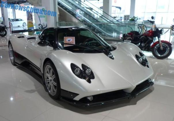 China Super Car Super Spot: Pagani Zonda F
