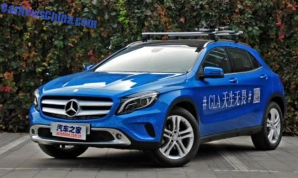 Mercedes-Benz GLA launched on the Chinese auto market