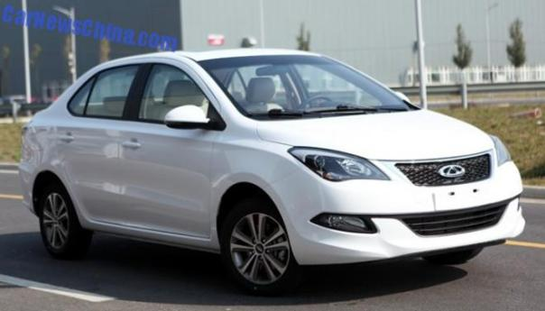 Chery Arrizo 3 is Almost Ready for the Chinese auto market