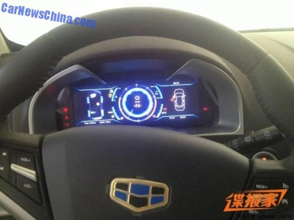 Spy Shots: Geely Emgrand EC7 goes Hybrid in China
