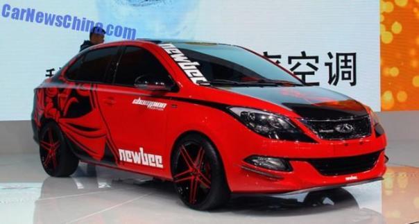 2014 Guangzhou Auto Show: Chery Arrizo 3 Newbee debuts in China