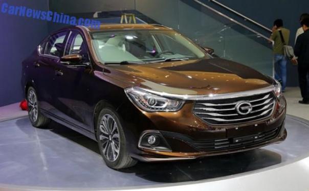 2014 Guangzhou Auto Show: Guangzhou Auto Trumpchi GA6 unveiled in China