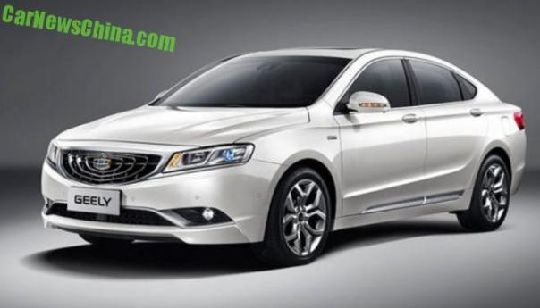Officially Official: the Geely Emgrand GC9 sedan for China