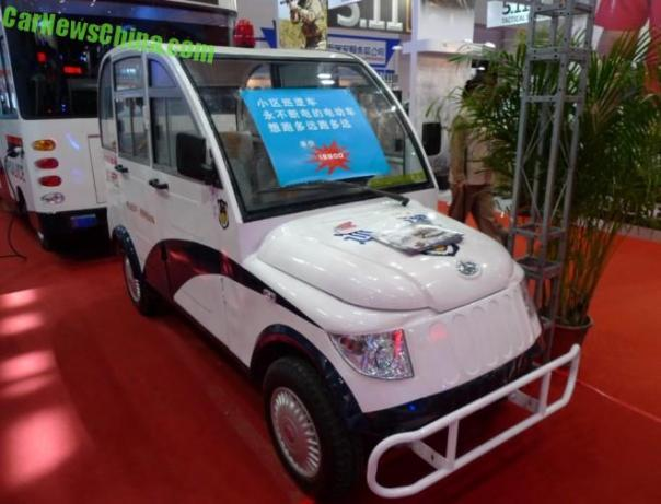 Introducting the Henan Xinma Neighborhood Patrol Car