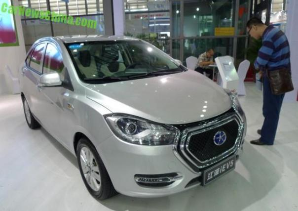 Eye to Eye with the JAC iEV5 EV in China