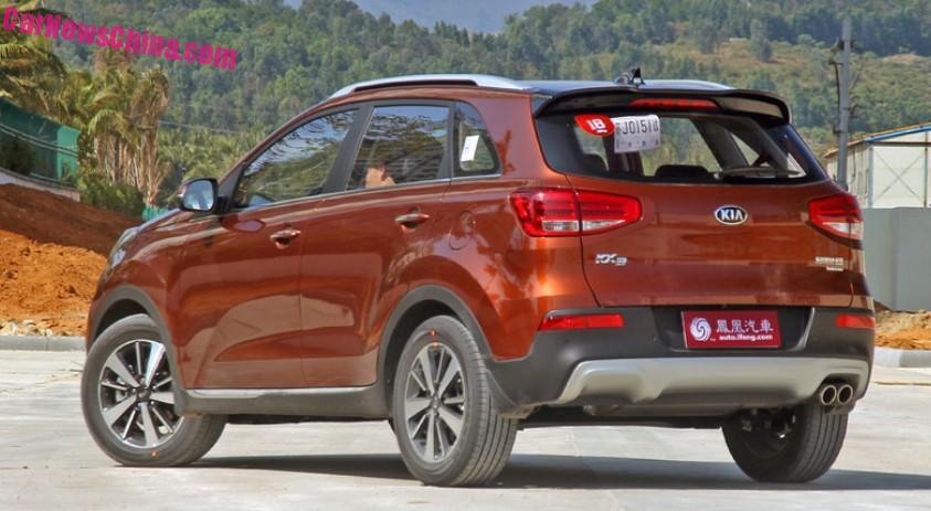 This is the Kia KX3 SUV for China  CarNewsChinacom  China Auto News