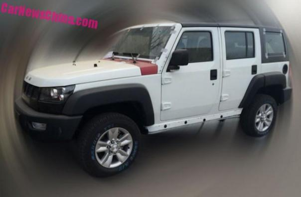 Spy Shots: Beijing Auto B40L is almost Ready for the Chinese car market