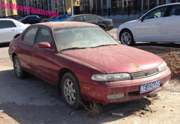 Spotted in China: third generation Mazda 626 sedan