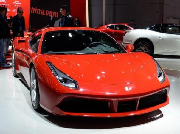 Ferrari 488 GTB hits the Shanghai Auto Show in China