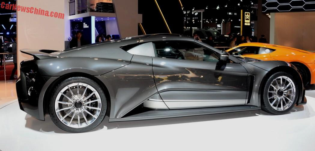 Zenvo Supercar Hits The Shanghai Auto Show In China